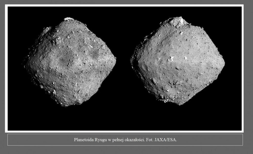 Wiemy już, kiedy sonda Hayabusa-2 pobierze próbki z tajemniczej planetoidy Ryugu2.jpg
