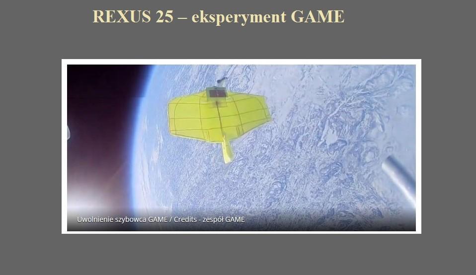 REXUS 25 – eksperyment GAME.jpg