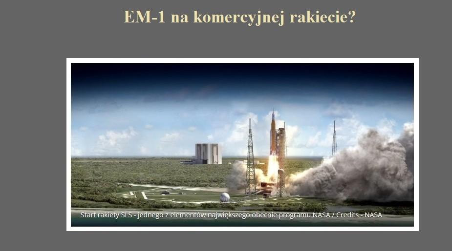 EM-1 na komercyjnej rakiecie.jpg