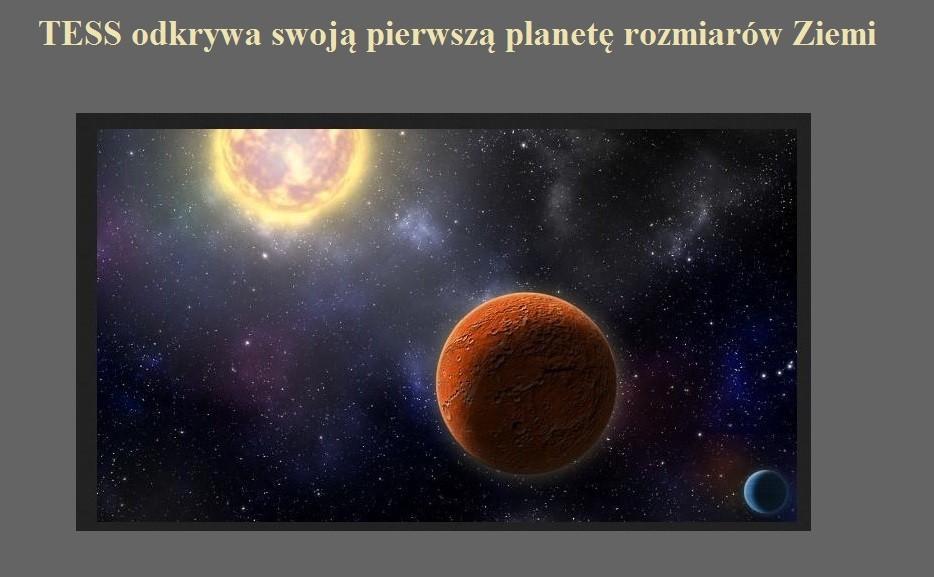TESS odkrywa swoją pierwszą planetę rozmiarów Ziemi.jpg