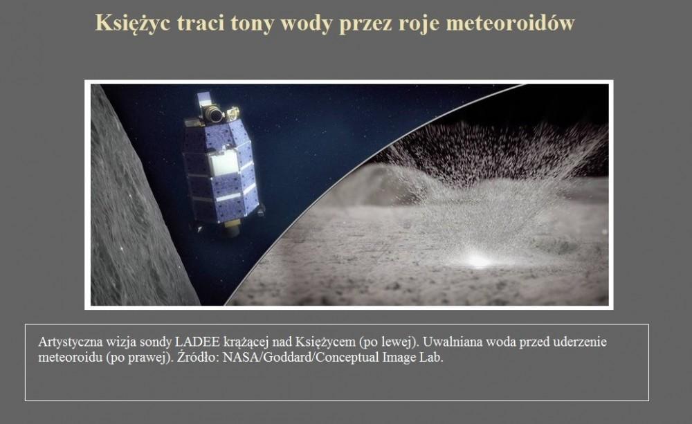 Księżyc traci tony wody przez roje meteoroidów.jpg