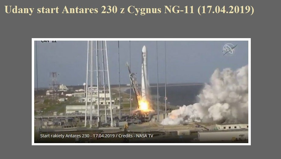 Udany start Antares 230 z Cygnus NG-11 (17.04.2019).jpg