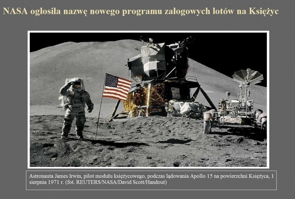 NASA ogłosiła nazwę nowego programu załogowych lotów na Księżyc.jpg