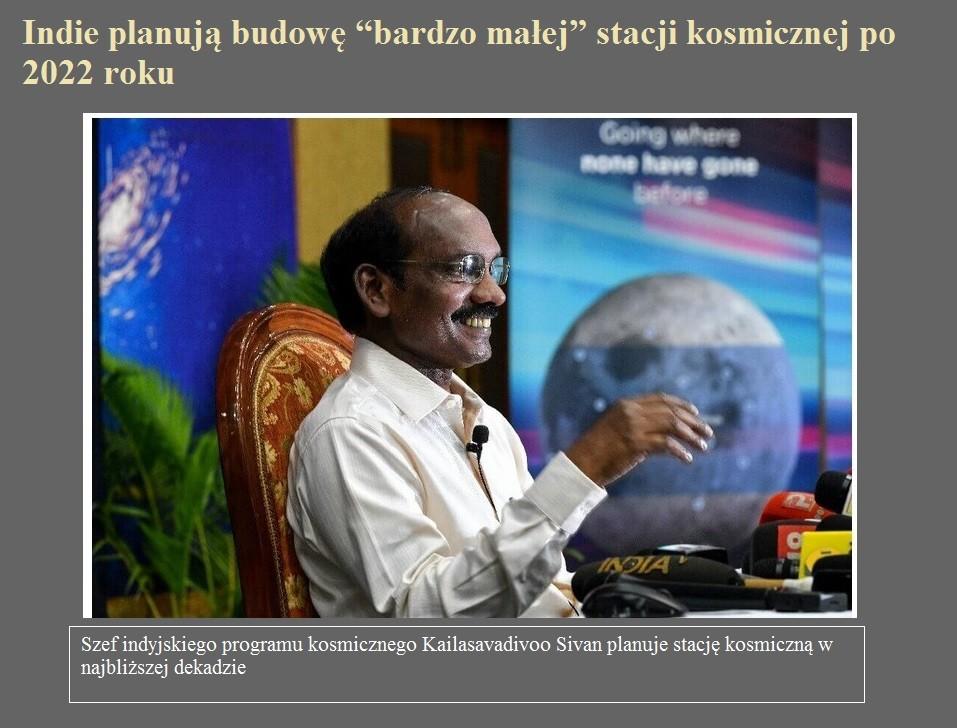 """Indie planują budowę """"bardzo małej"""" stacji kosmicznej po 2022 roku.jpg"""