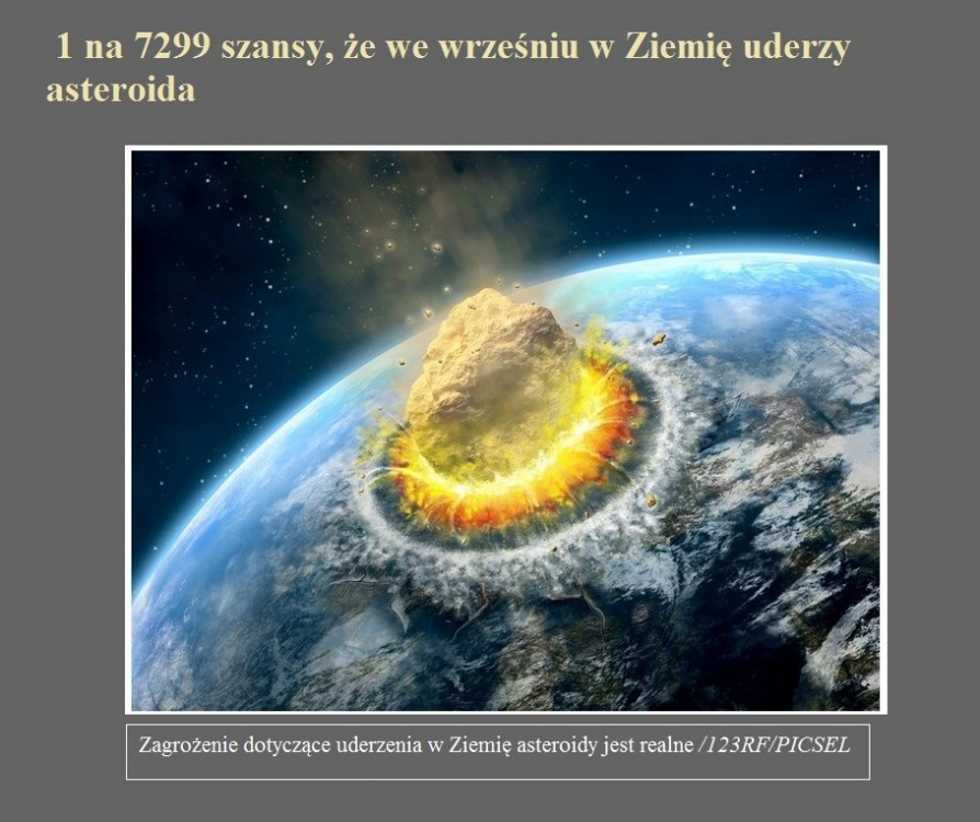 1 na 7299 szansy, że we wrześniu w Ziemię uderzy asteroida.jpg