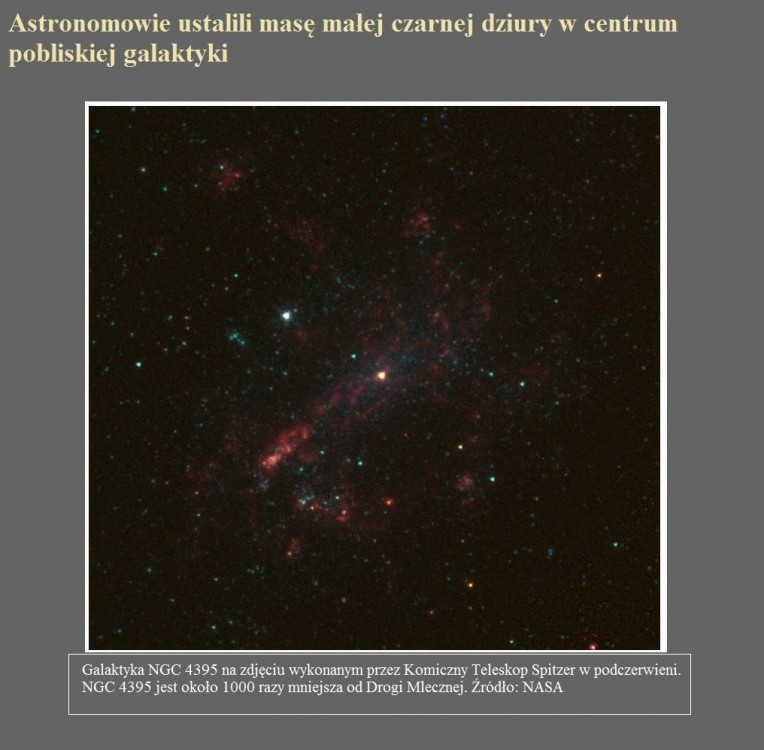 Astronomowie ustalili masę małej czarnej dziury w centrum pobliskiej galaktyki.jpg
