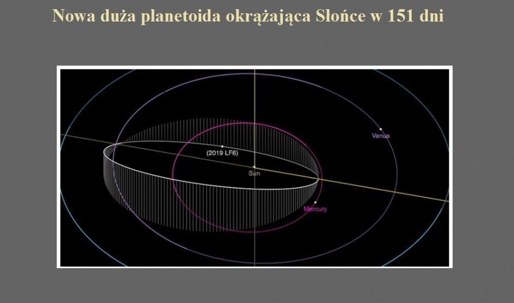 Nowa duża planetoida okrążająca Słońce w 151 dni.jpg