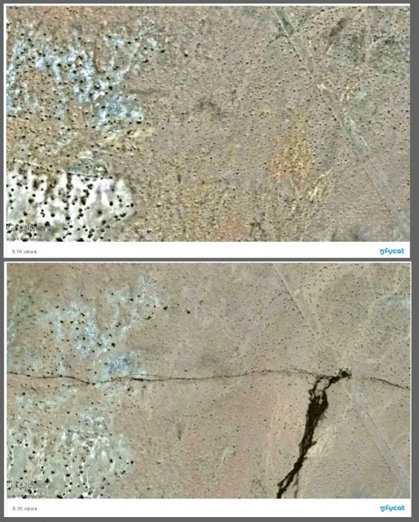 Po potężnym wstrząsie Kalifornia przesunęła się o 4 metry! Satelita ujawnił szokujące deformacje terenu4.jpg