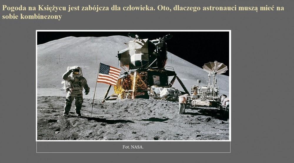 Pogoda na Księżycu jest zabójcza dla człowieka. Oto, dlaczego astronauci muszą mieć na sobie kombinezony.jpg