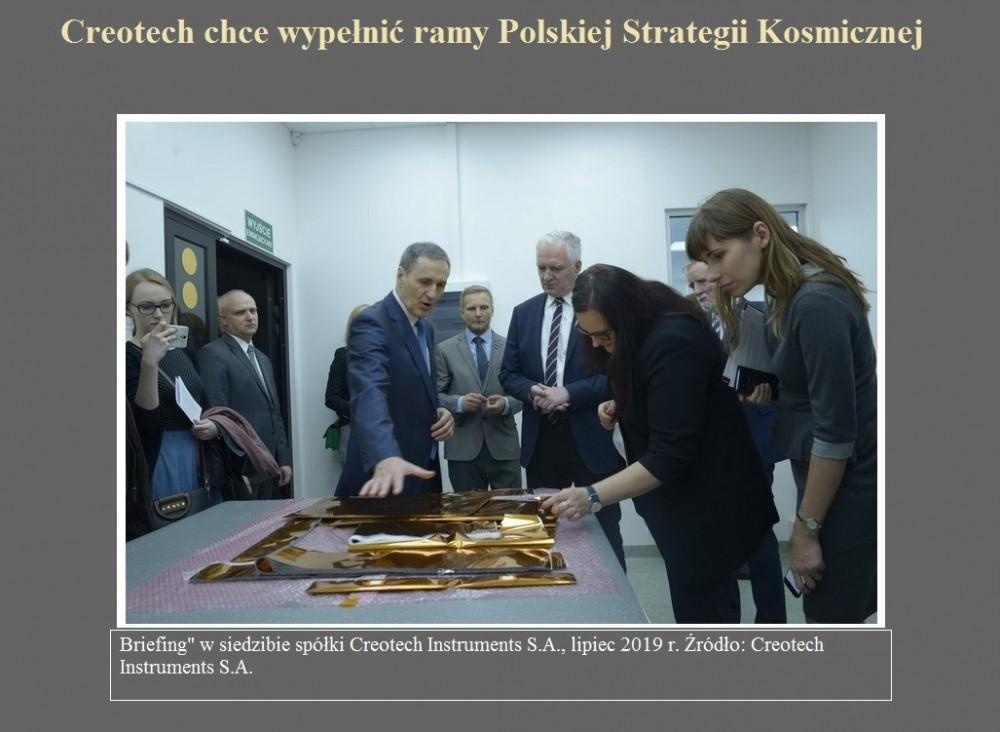 Creotech chce wypełnić ramy Polskiej Strategii Kosmicznej.jpg