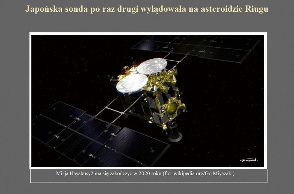 Japońska sonda po raz drugi wylądowała na asteroidzie Riugu.jpg