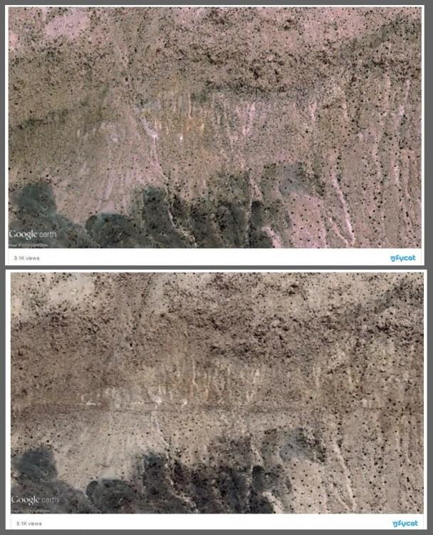 Po potężnym wstrząsie Kalifornia przesunęła się o 4 metry! Satelita ujawnił szokujące deformacje terenu3.jpg