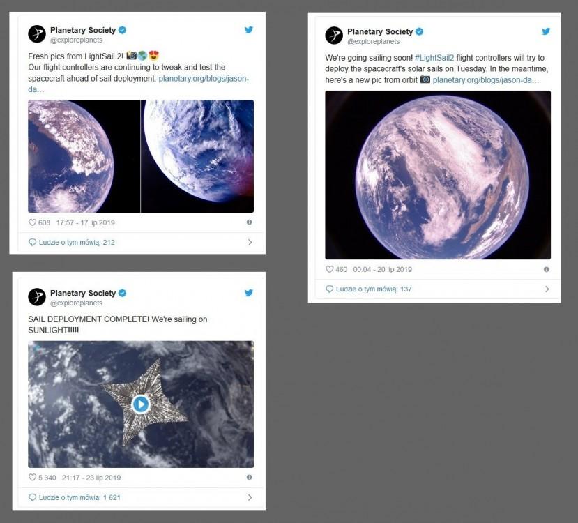 Tak wygląda Ziemia z rewolucyjnego żagla napędzanego promieniami Słońca2.jpg