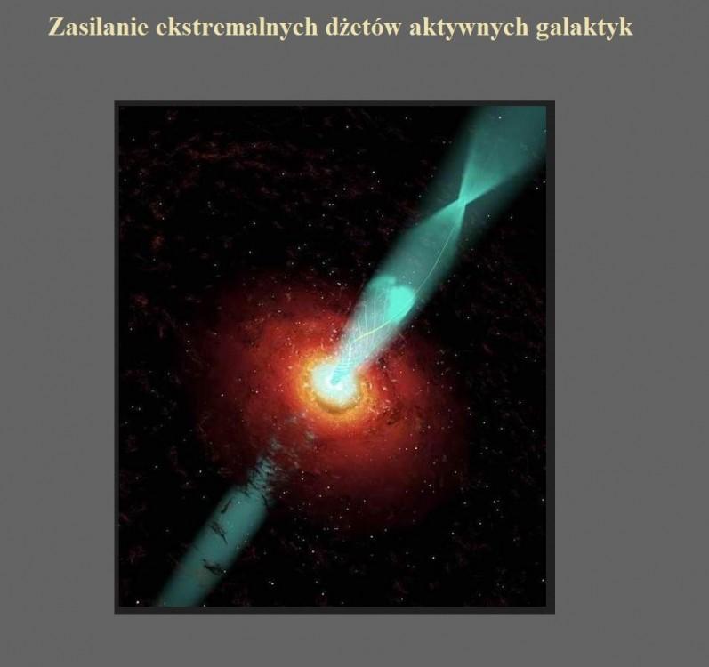 Zasilanie ekstremalnych dżetów aktywnych galaktyk.jpg