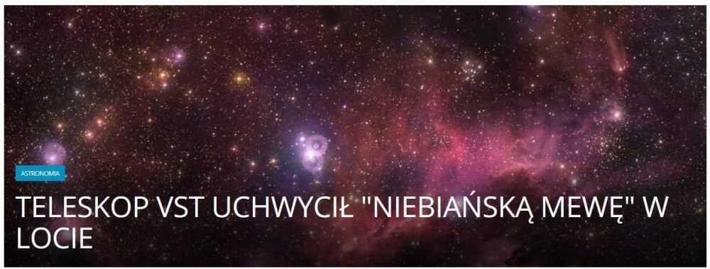 Teleskop VST uchwycił niebiańską mewę w locie .jpg