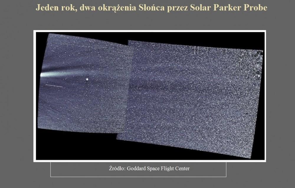 Jeden rok, dwa okrążenia Słońca przez Solar Parker Probe.jpg