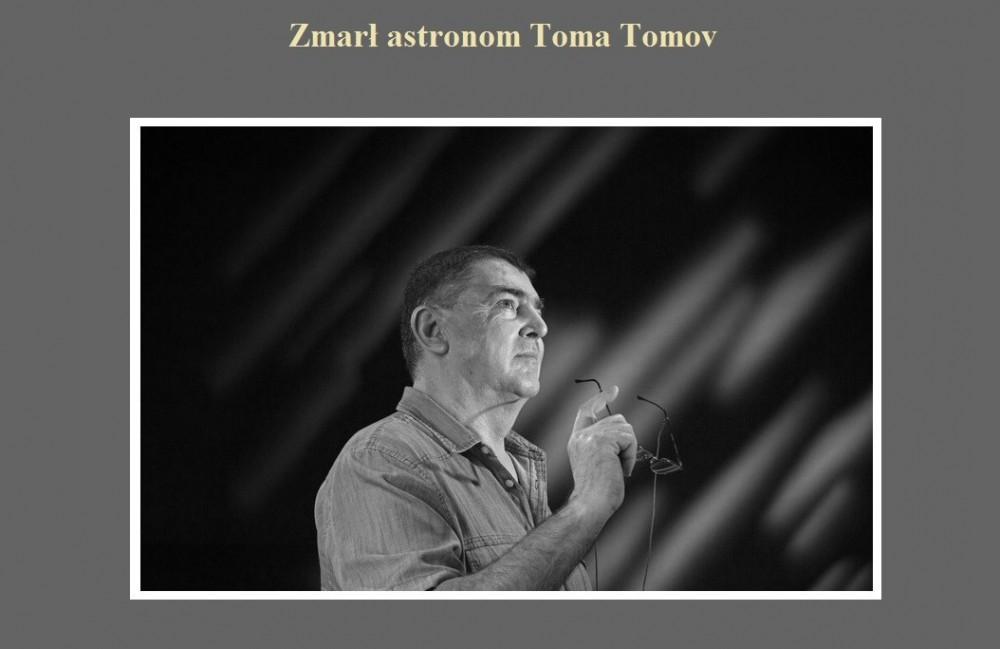 Zmarł astronom Toma Tomov.jpg