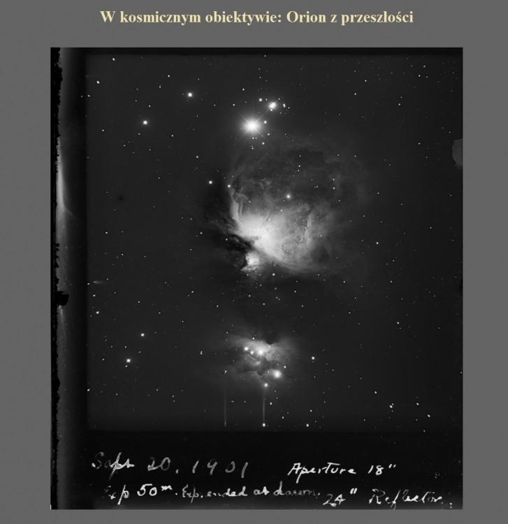 W kosmicznym obiektywie Orion z przeszłości.jpg