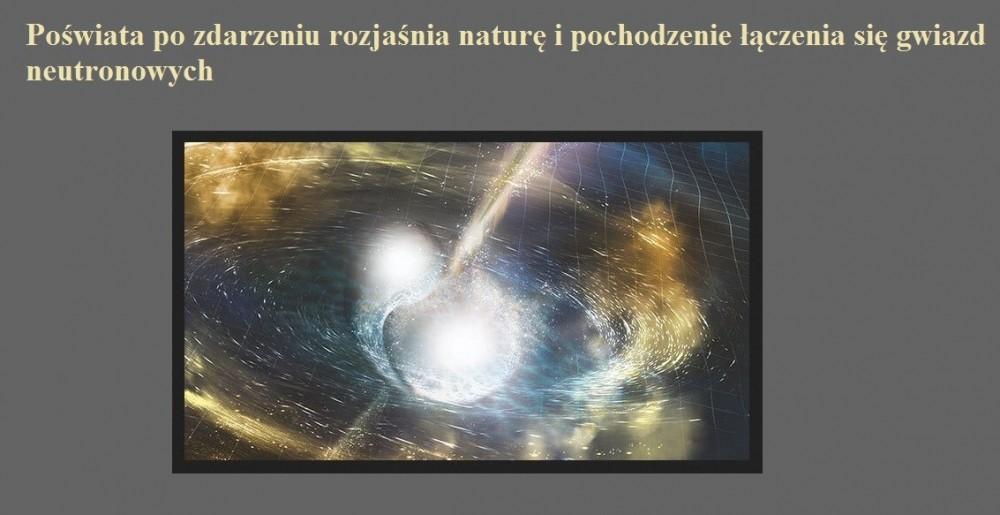Poświata po zdarzeniu rozjaśnia naturę i pochodzenie łączenia się gwiazd neutronowych.jpg