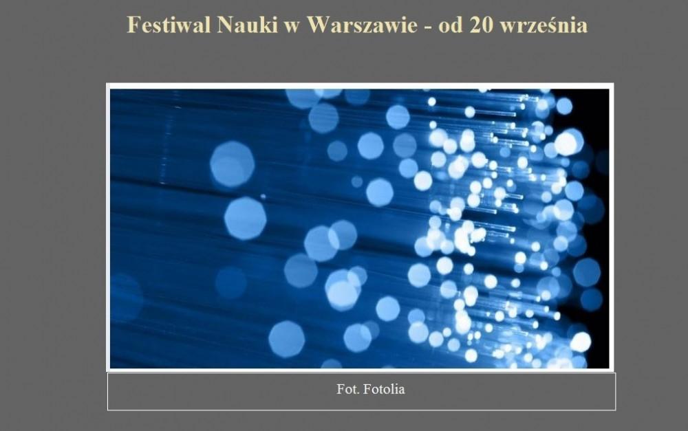 Festiwal Nauki w Warszawie - od 20 września.jpg