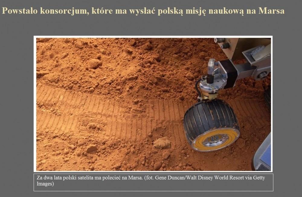 Powstało konsorcjum, które ma wysłać polską misję naukową na Marsa.jpg