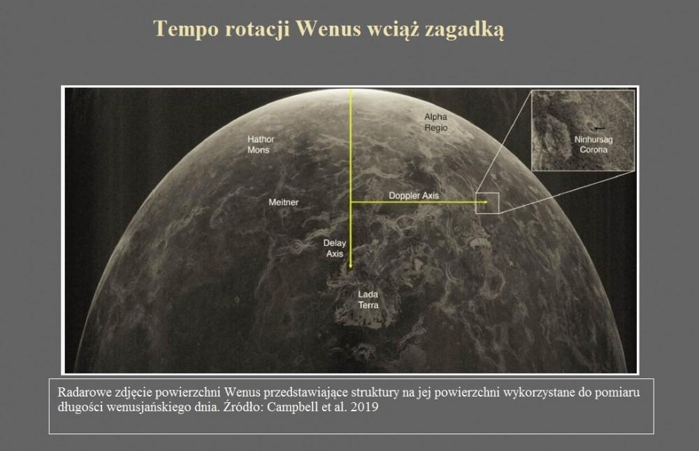 Tempo rotacji Wenus wciąż zagadką.jpg