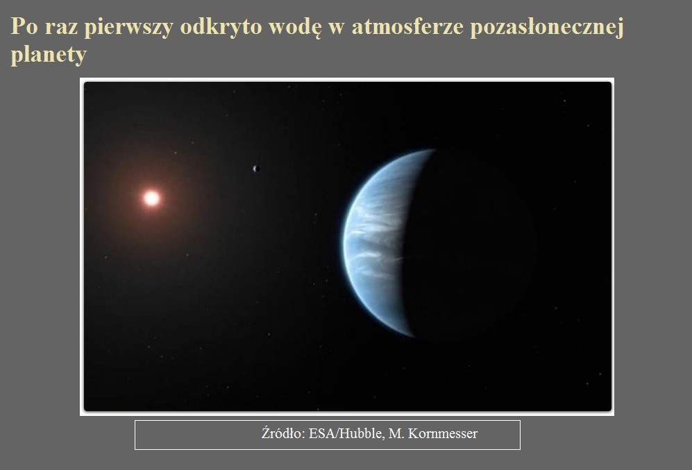 Po raz pierwszy odkryto wodę w atmosferze pozasłonecznej planety.jpg