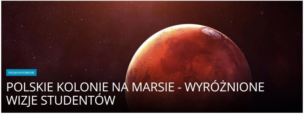 Polskie kolonie na Marsie - wyróżnione wizje studentów.jpg