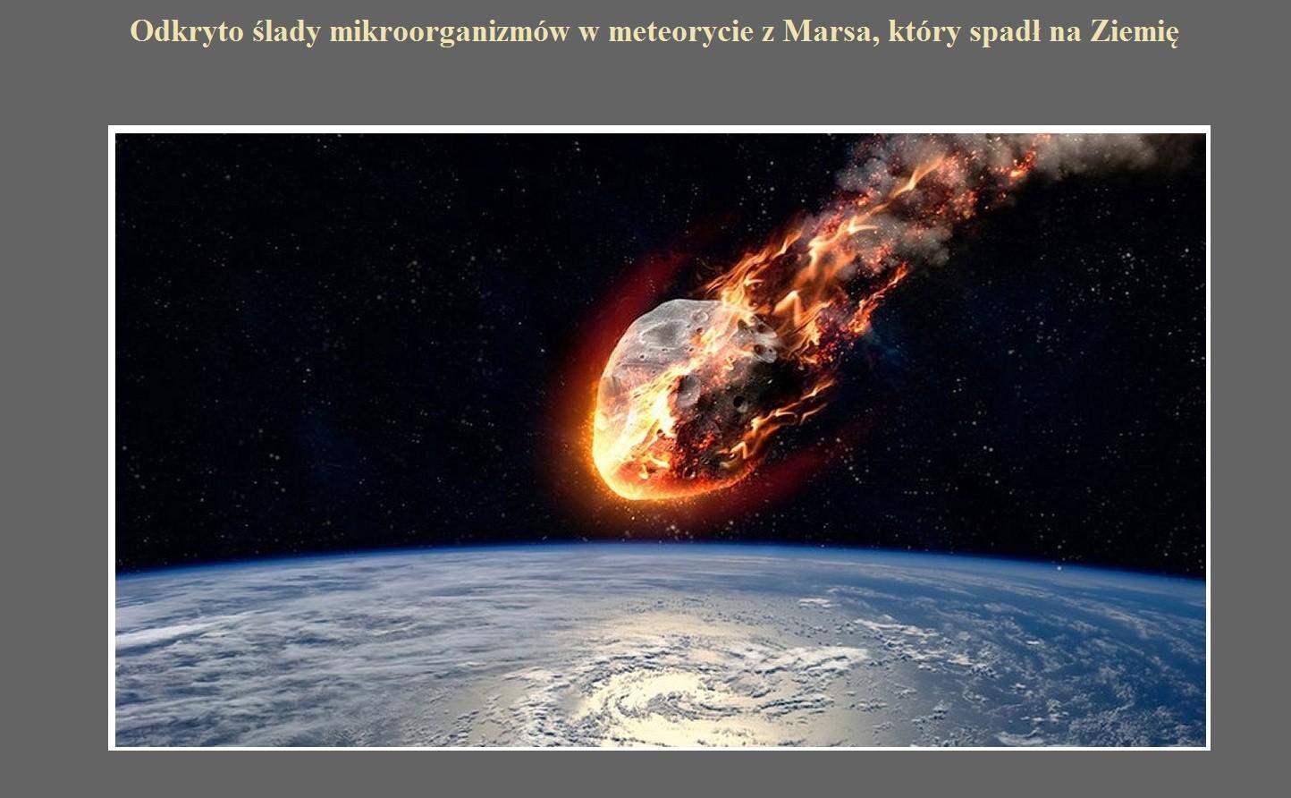 Datowanie radiometryczne meteorytów