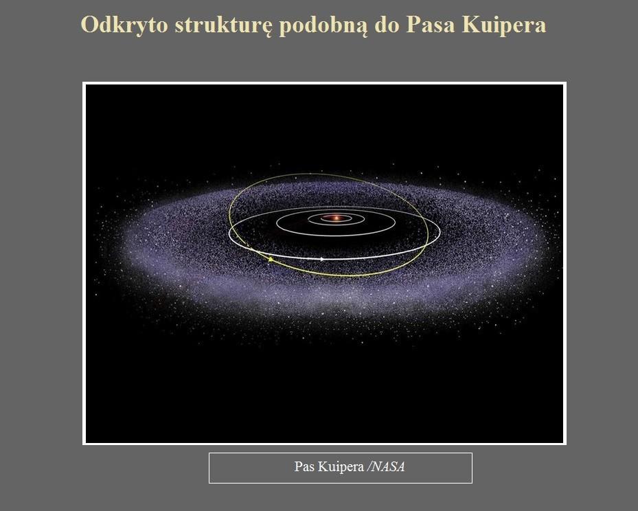 Odkryto strukturę podobną do Pasa Kuipera.jpg