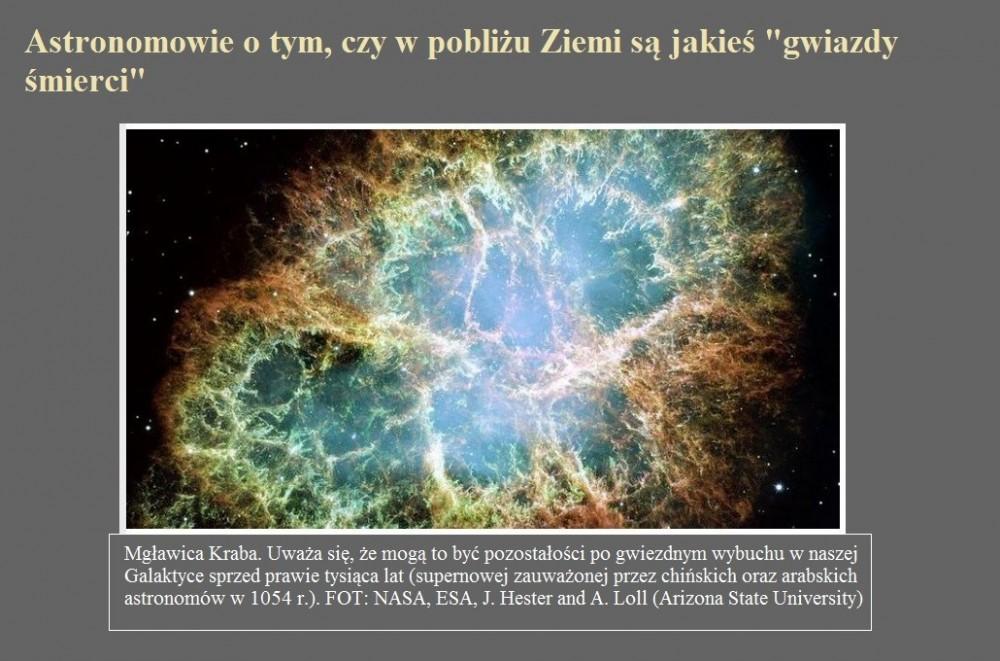 Astronomowie o tym, czy w pobliżu Ziemi są jakieś gwiazdy śmierci.jpg
