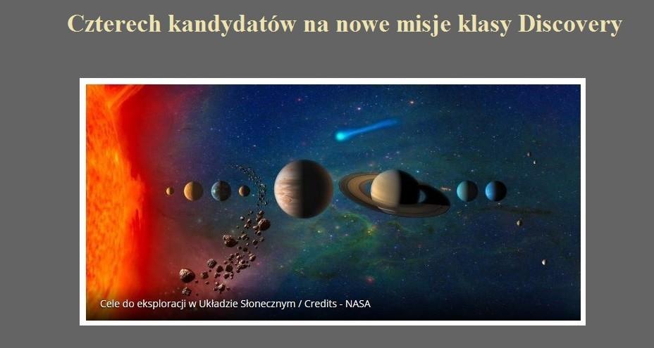 Czterech kandydatów na nowe misje klasy Discovery.jpg