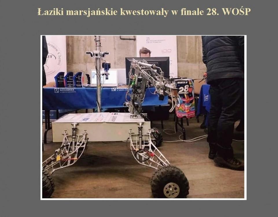 Łaziki marsjańskie kwestowały w finale 28. WOŚP.jpg