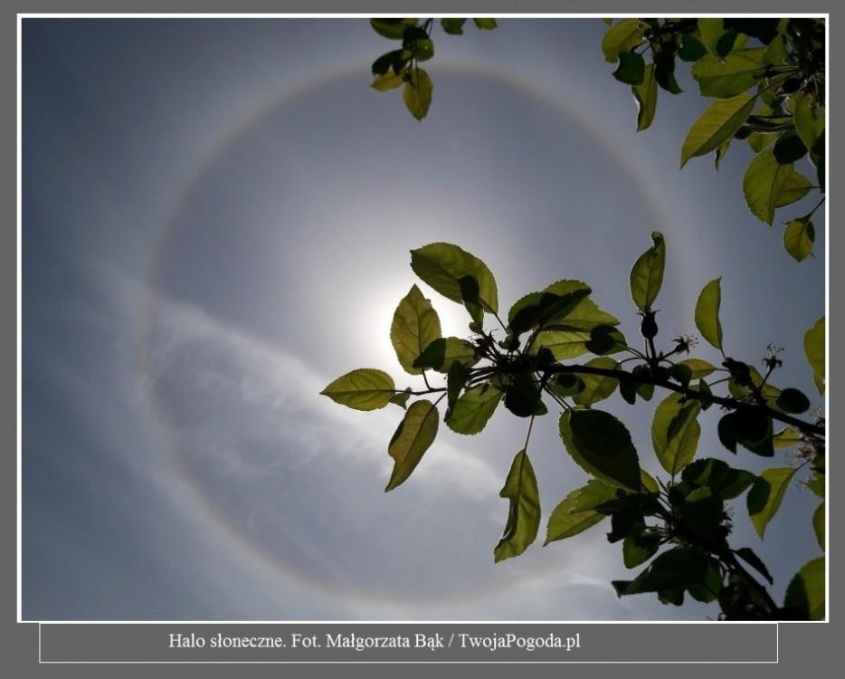 Fantastyczne zjawisko nad Polską. Wokół Słońca pojawił się tęczowy pierścień [ZDJĘCIA]2.jpg