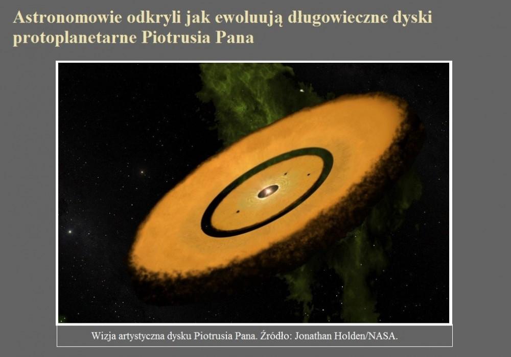 Astronomowie odkryli jak ewoluują długowieczne dyski protoplanetarne Piotrusia Pana.jpg