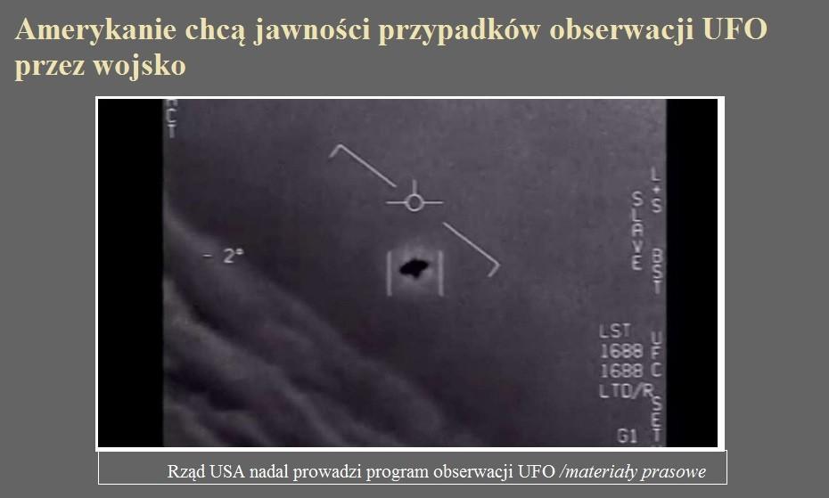 Amerykanie chcą jawności przypadków obserwacji UFO przez wojsko.jpg
