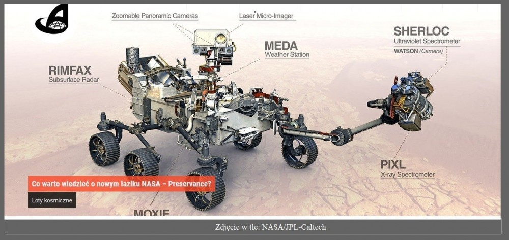Co warto wiedzieć o nowym łaziku NASA – Preservance.jpg