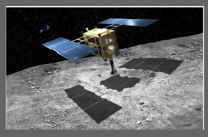 Sonda Hayabusa-2 dostarczy wkrótce na Ziemię kapsułę z próbkami z asteroidy Ryugu2.jpg