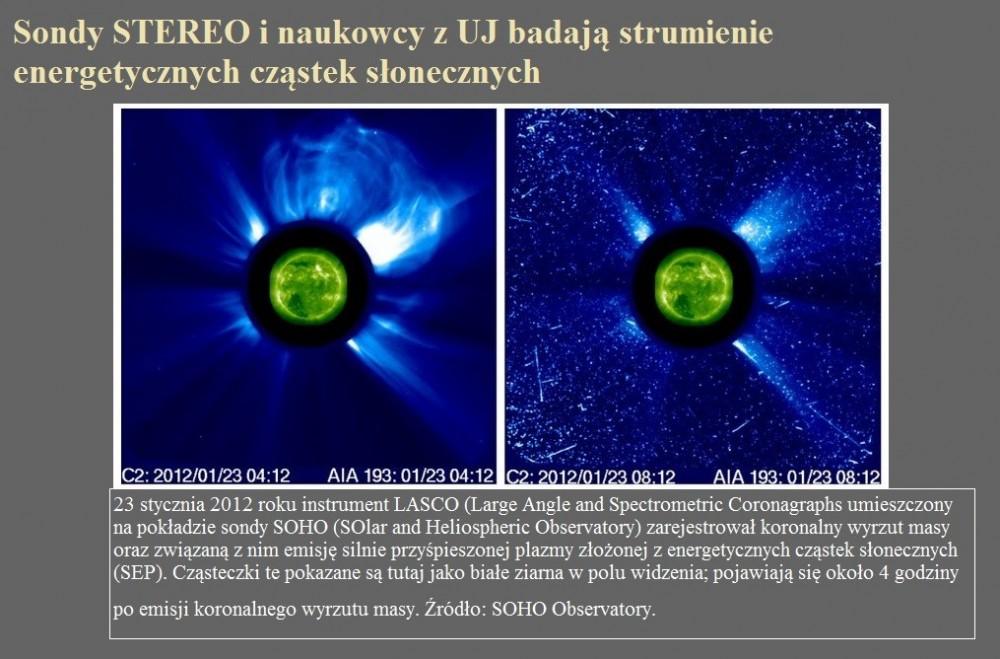 Sondy STEREO i naukowcy z UJ badają strumienie energetycznych cząstek słonecznych.jpg