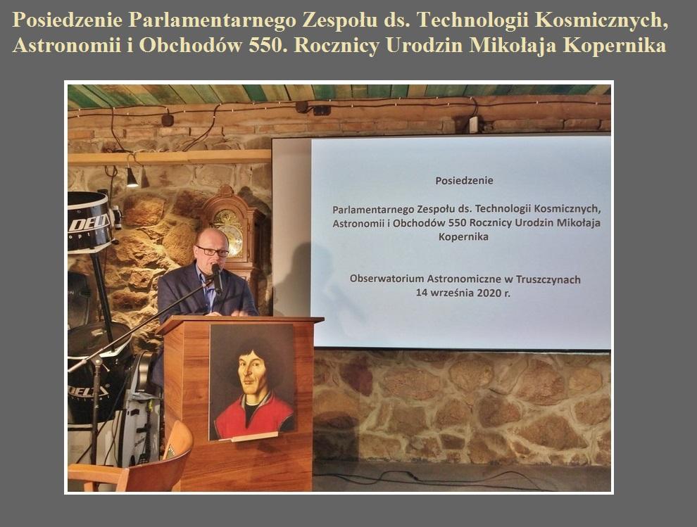Posiedzenie Parlamentarnego Zespołu ds. Technologii Kosmicznych, Astronomii i Obchodów 550. Rocznicy Urodzin Mikołaja Kopernika.jpg