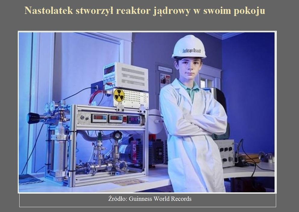 Nastolatek stworzył reaktor jądrowy w swoim pokoju.jpg