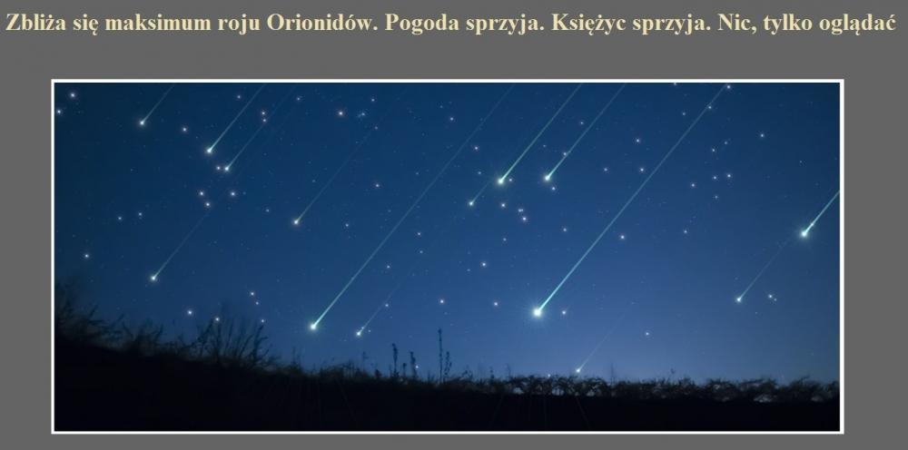 Zbliża się maksimum roju Orionidów. Pogoda sprzyja. Księżyc sprzyja. Nic, tylko oglądać.jpg