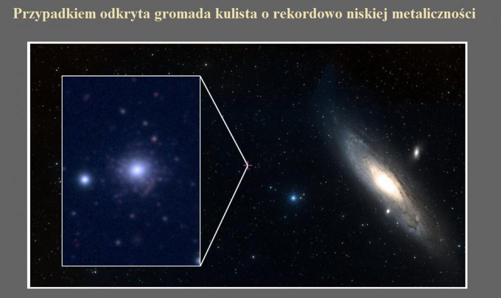 Przypadkiem odkryta gromada kulista o rekordowo niskiej metaliczności.jpg