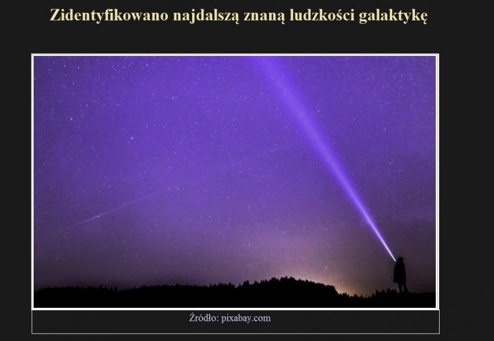 Zidentyfikowano najdalszą znaną ludzkości galaktykę.jpg