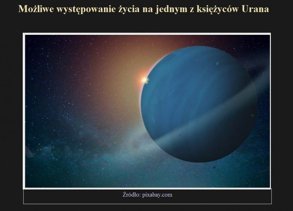 Możliwe występowanie życia na jednym z księżyców Urana.jpg