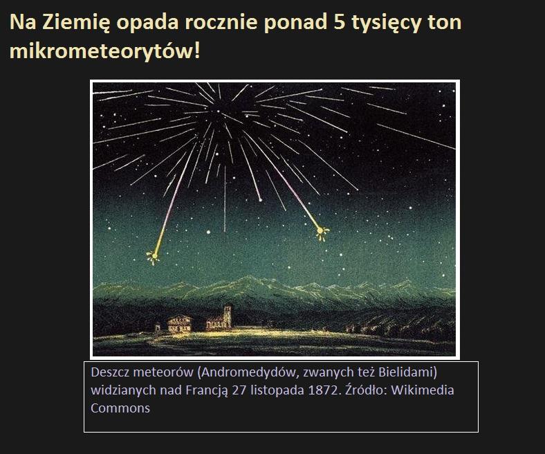 Na Ziemię opada rocznie ponad 5 tysięcy ton mikrometeorytów!.jpg