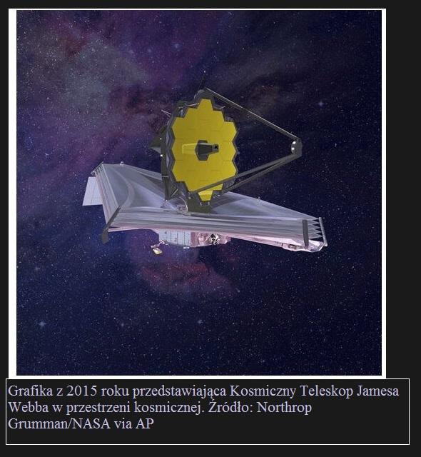 Kosmiczny Teleskop Jamesa Webba coraz bliżej. Przygotowania do startu trwają3.jpg