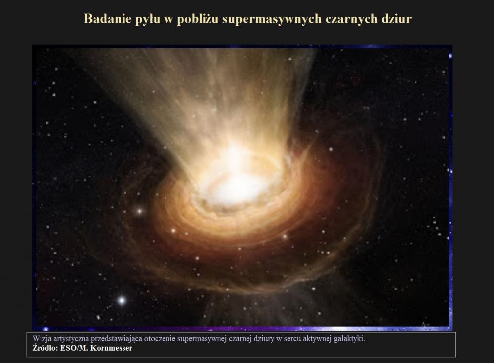 Badanie pyłu w pobliżu supermasywnych czarnych dziur.jpg