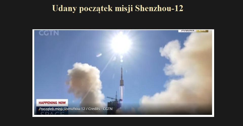 Udany początek misji Shenzhou-12.jpg