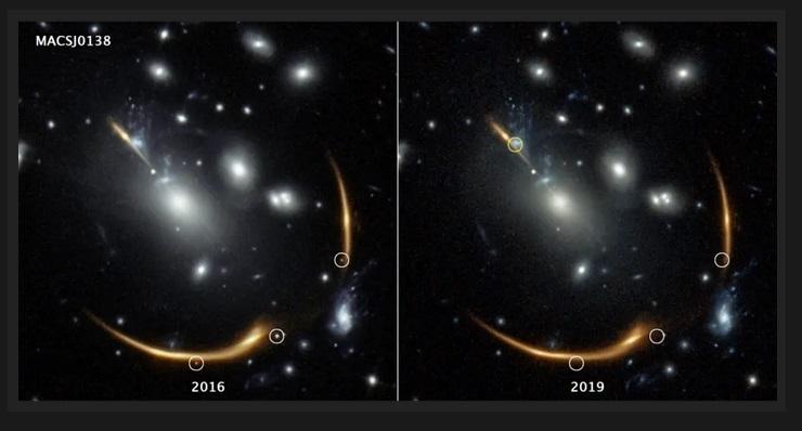 Czwarty obraz wybuchu tej samej supernowej pojawi się na niebie w 2037 roku. Jak to możliwe2.jpg